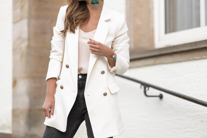 Blazer Trends 2020, weiße Blazer, Blazer in Cremetönen, Sommertrend, bezauberndenana.de