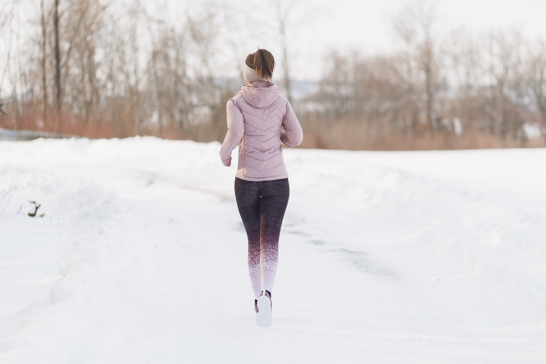 Sportkleidung zum Laufen im Winter, bezauberndenana