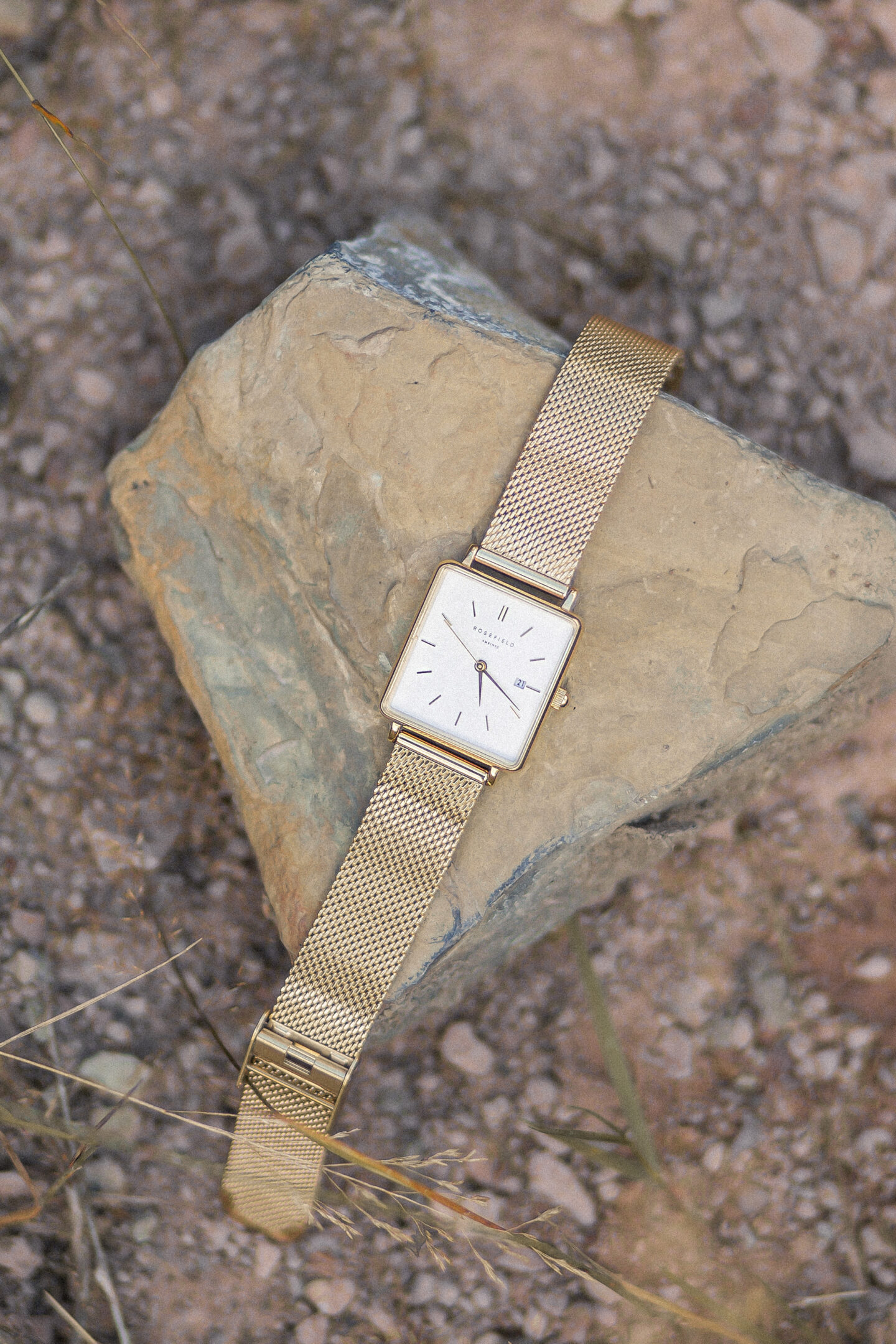 Uhren Klassiker, Damenuhren Trends, Rosefield Boxy Uhr, bezauberndenana